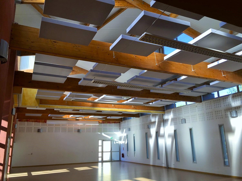 Capteurs & ilots acoustiques - Capteurs & ilots Capteur Absorber Equilibre posé au plafond par suspension
