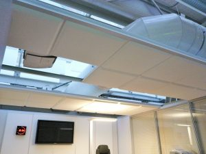 Faux-plafond acoustiques - Faux-plafond Faux plafond acoustique en absorber ampbient plano classic suspendu