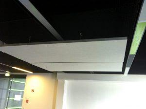 Capteurs & ilots acoustiques - Capteurs & ilots Capteur balance AP2V Polar picture posé au plafond par suspension