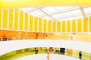 Panneaux acoustiques - Panneaux Ambiance design color posé au mur par collage