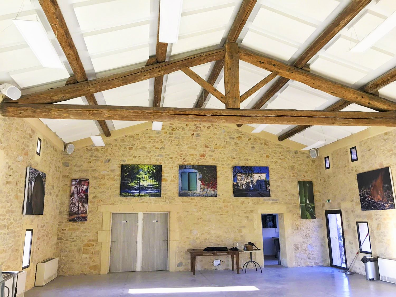 Panneaux acoustiques - Panneaux Ambiance design classic posé au plafond par collage