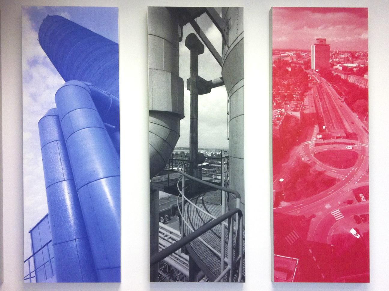 Design acoustique - Design Tableau acoustique picture posé au mur par collage