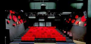 Design acoustique - Design Forme acoustique sur mesure - capteur acoustique color posé au mur par collage