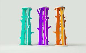 Design acoustique - Design Colonne acoustique color