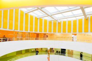 Panneaux acoustiques - Panneaux Ambiance color posé au mur par collage