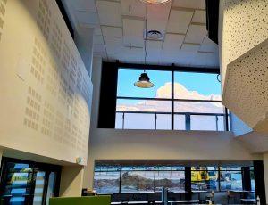 Faux-plafond acoustiques - Faux-plafond Faux plafond acoustique en acoutic panel 2V classic suspendu