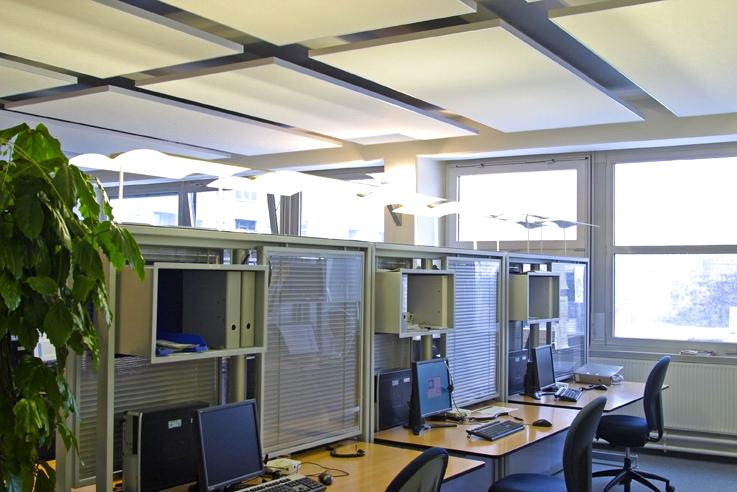 Capteurs & ilots acoustiques - Capteurs & ilots Capteur balance AP2V Polar posé au plafond par suspension