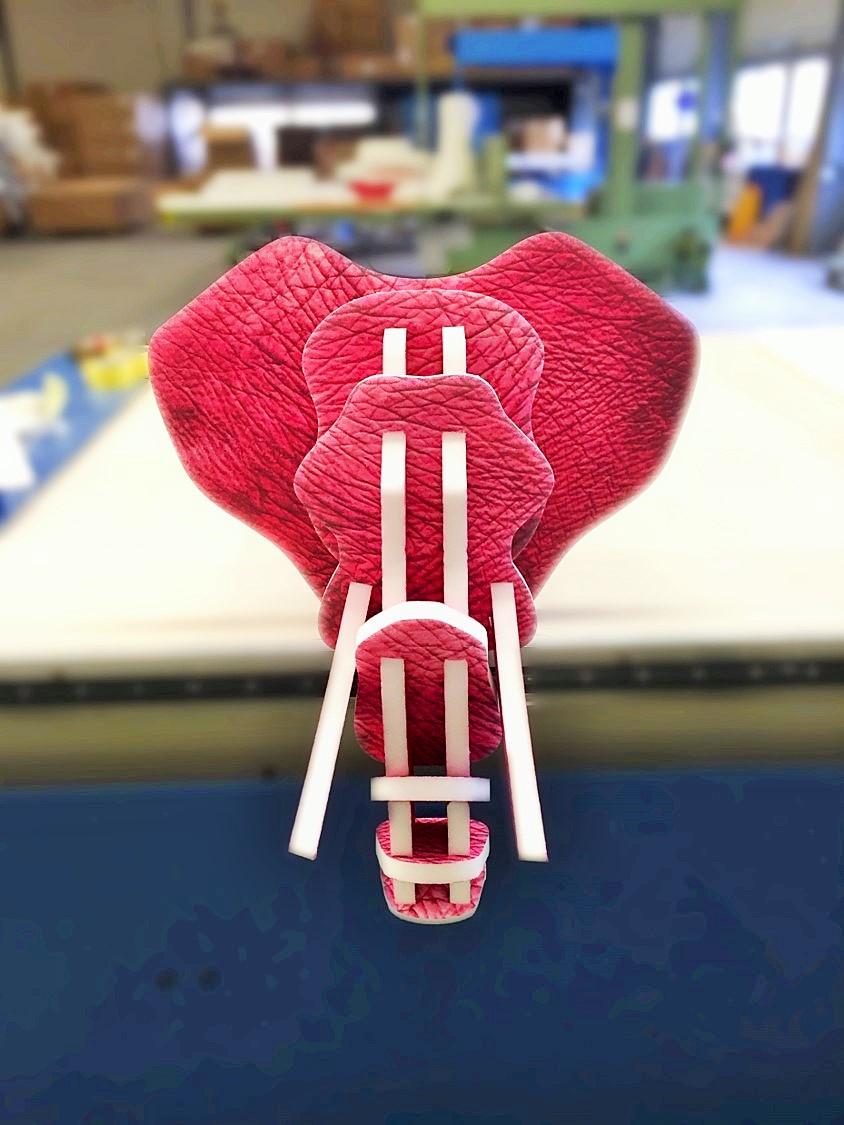 Design acoustique - Design Trophée acoustique picture en forme de tête d'éléphant