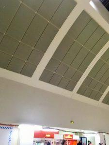 Panneaux acoustiques - Panneaux Ambiance classic posé au plafond par collage sous voûte