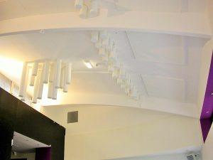 Baffles & objets acoustiques - Baffles & objets Baffles Absorber Rondo posée au plafond par collage