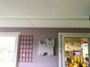 Baffles & objets acoustiques - Baffles & objets Baffle Absorber Ludique posée au mur par collage