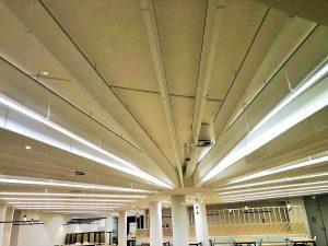 Baffles & objets acoustiques - Baffles & objets Baffle Absorber Linear posée au plafond par collage