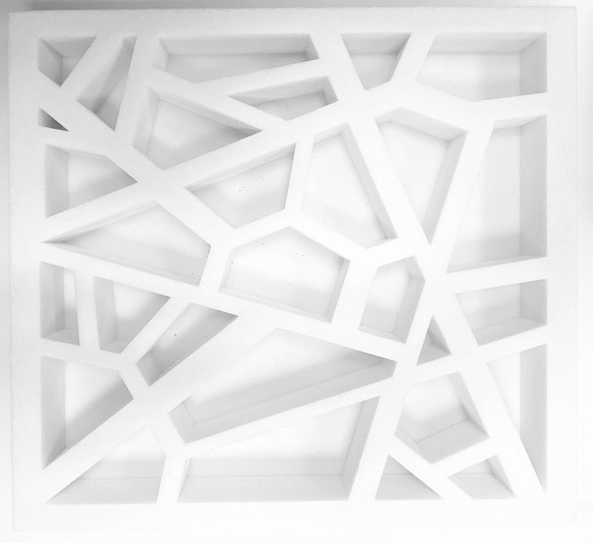 Industrie  - Industrie Découpe spéciale pour faux plafond acoustique