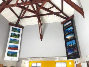 Panneaux acoustiques - Panneaux Ambiance classic posé au plafond par collage sous rampant